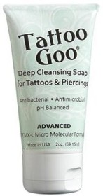 Tattoo Goo Deep Cleansing Soap - 2oz Tube