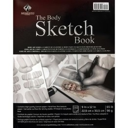The Body Sketch Book: A Variety of Anatomical Body Parts to Sketch on from Head to Toe
