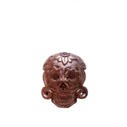 Waru-Lot (Sea Hibiscus) Day of the Dead Mask Plugs