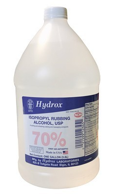 Medical Supplies Gt Isopropyl Alcohol By Hydrox Laboratories 1 Gallon
