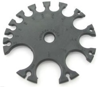 Plastic Piercing Gauge Wheel