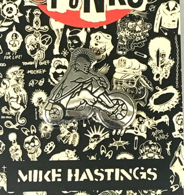 Tattoo Punks Artist Series Pins - Mike Hastings