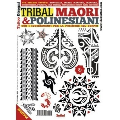 Books Tribal Maori And Polynesian Tattoo Design From Italy