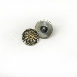 "Internally Threaded ""Traditional Balinese"" Silver Series Threaded Ends"